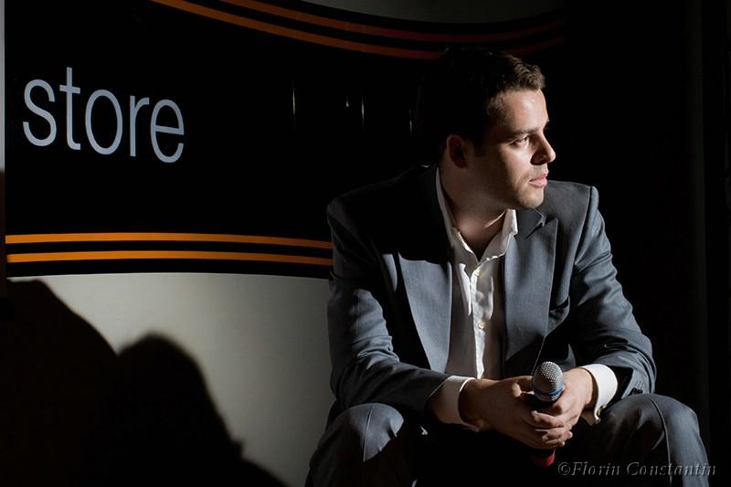 Mark Creighton, managing director al i-level, surprins la fosta editie a evenimentului Orange