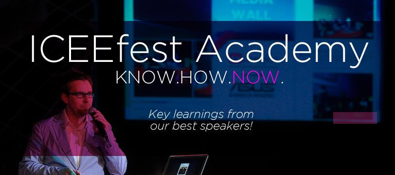 Am lansat ICEEfest Academy